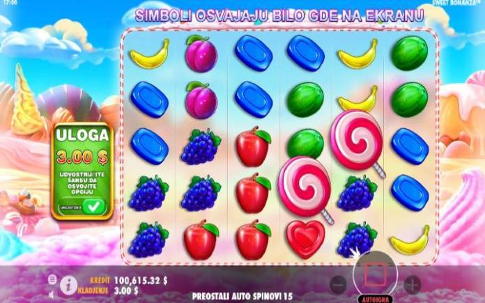 Sweet Bonanza, Online Casino Bonus