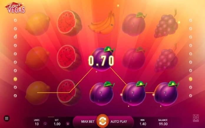 Fruit Vegas, Online Casino Bonus