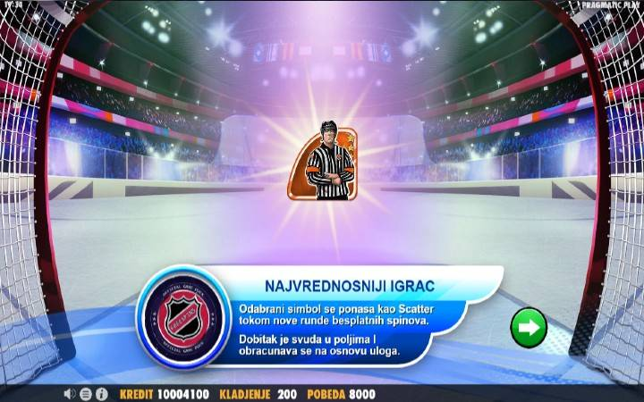 Hockey League, Online Casino Bonus, Kockanje