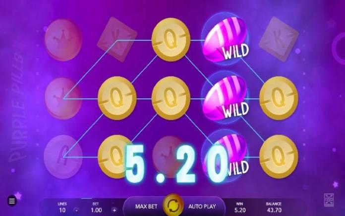 Purple Pills, Online Casino Bonus