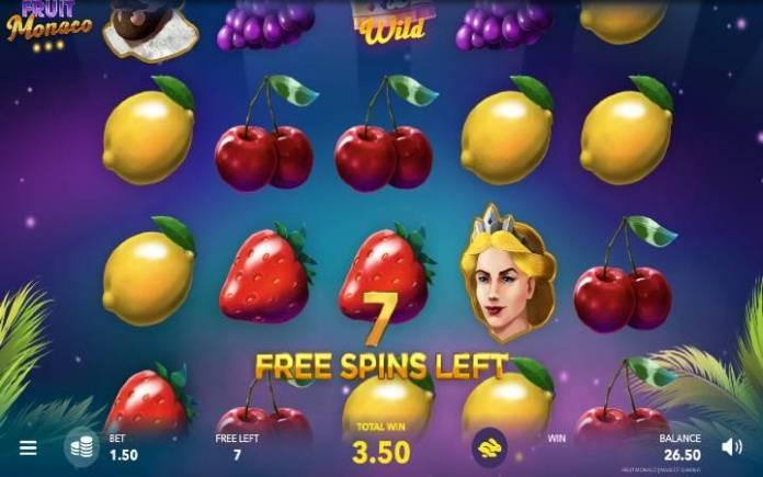 Besplatni spinovi, Online Casino Bonus, Fruit Monaco