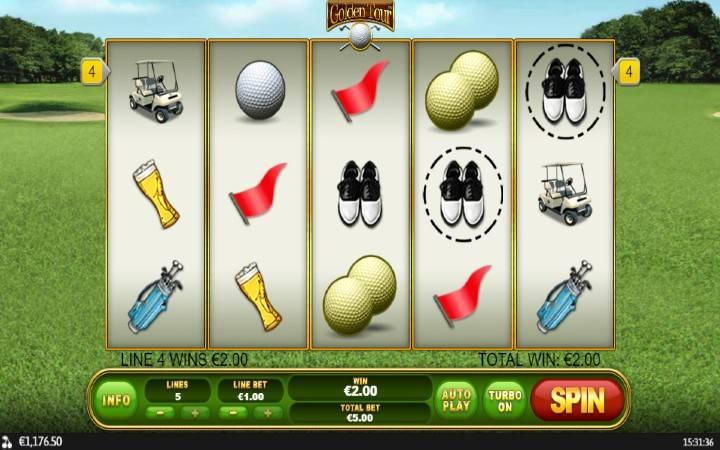 Golden Tour, Online Casino Bonus, Playtech