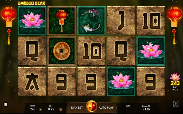Bamboo Bear, Mascot, Online Casino Bonus