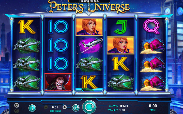 Peters Universe, GameArt, Online Casino Bonus