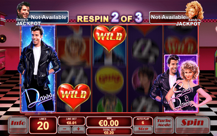 Grease, Playtech, Online Casino Bonus
