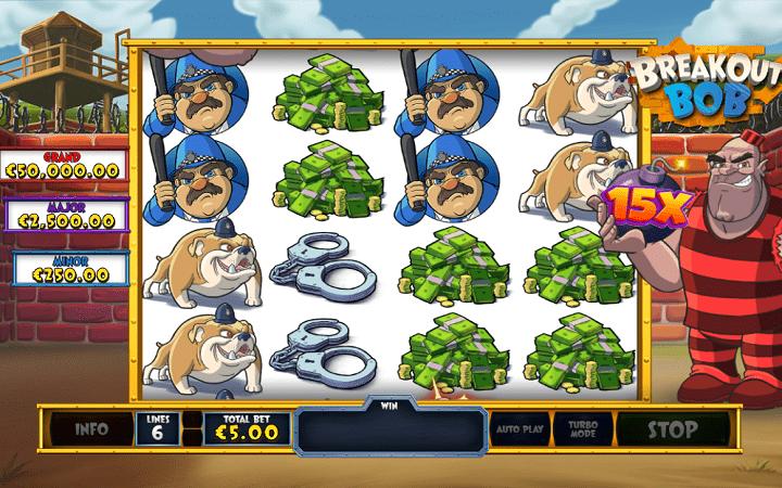 Breakout Bob, Playtech, Online Casino Bonus