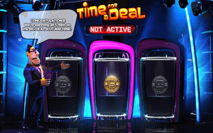Time for a Deal, Playtech, Online Casino Bonus