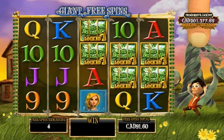 Bounty of the Beanstalk, Playtech, Online Casino Bonus