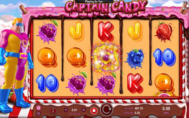 Captain Candy, GameArt, Online Casino Bonus