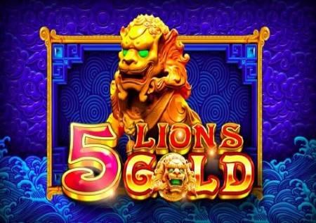 5 Lions Gold – kazino igra donosi džekpot i bonuse!