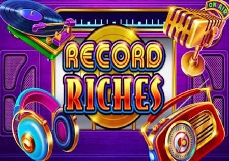 Record Riches – đuskajte uz muzički video slot