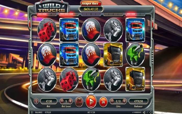 Wild Trucks, Online Casino Bonus