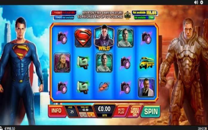 Man of Steel, Online Casino Bonus