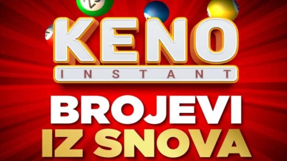 Instant Keno savršen spoj brojeva i kazina