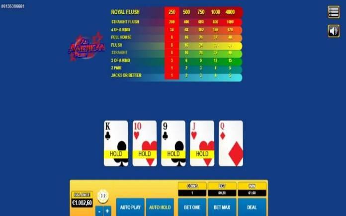 All American Poker, online casino bonus