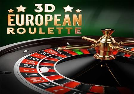 3D European Roulette – rulet na evropski način