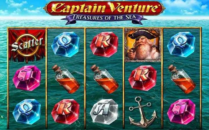 Captain Venture Treasures of the Sea