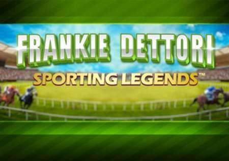 Sporting Legends Frankie Dettori – online slot!