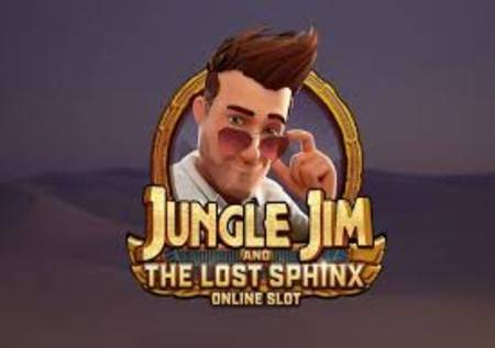 Jungle Jim and the Lost Sphinx – online slot!