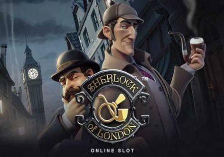 Sherlock of London – detektivska slot kazino igra!