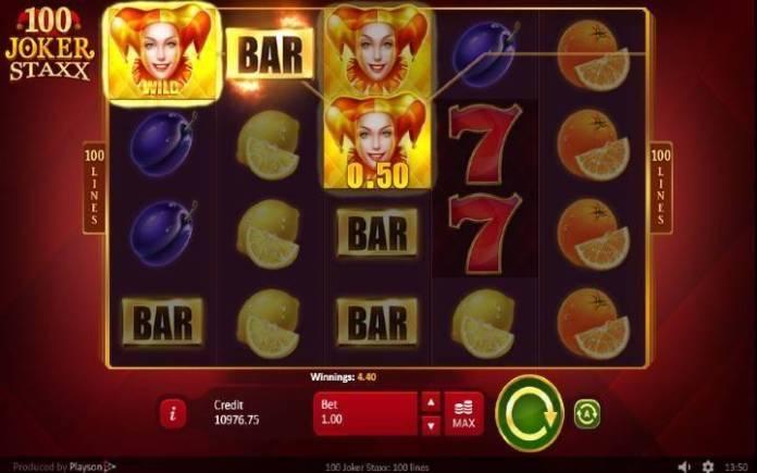 Džoker-online casino bonus-100 joker staxx