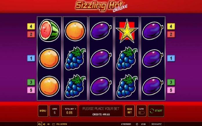 Sizzling Hot Deluxe-novomatic-osnovna igra-online casino bonus