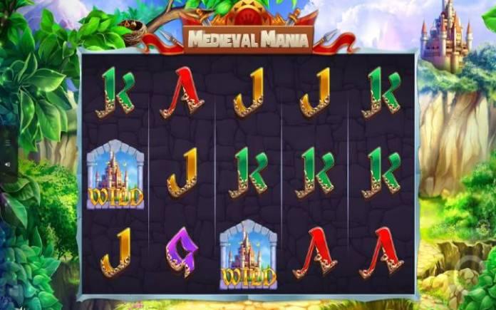 Medieval Mania-osnovna igra-džoker-dobitna kombinacija sa džokerom