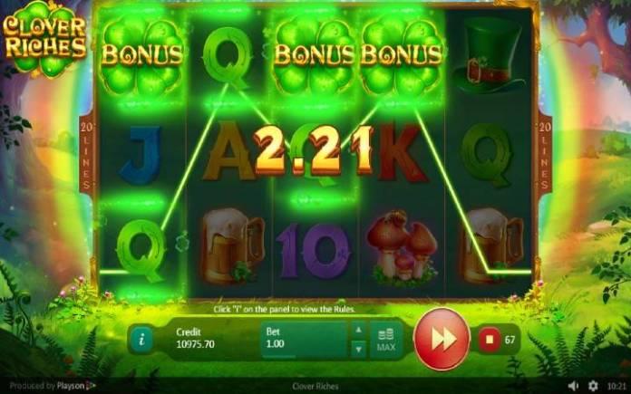 Scatter-Clover Riches-kako do besplatnih spinova-online casino bonus