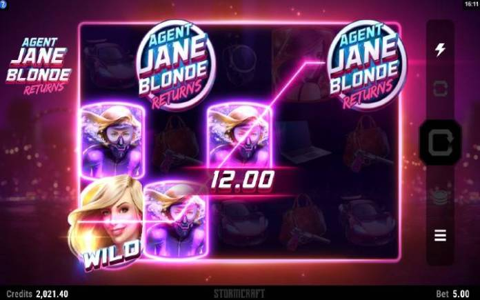 Bonus-Agent Jane Blond Returns-online casino bonus