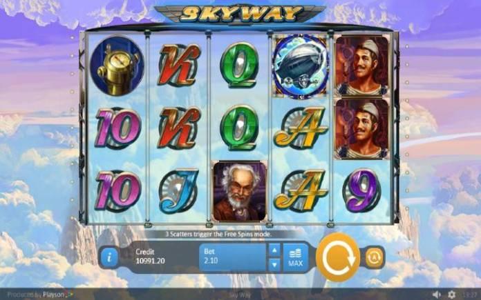 Skyway-online casino bonus-osnovna igra