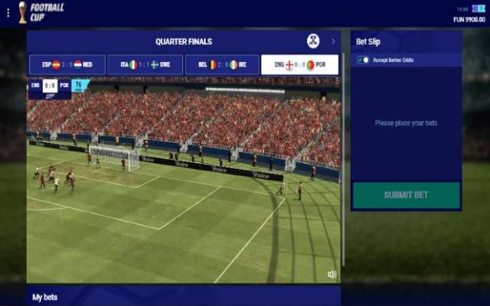 Virtual Football Cup-online casino bonus-Leap