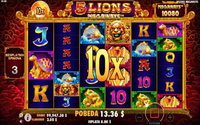 Besplatni spinovi-online casino bonus-pragmatic play-5 lions megaways