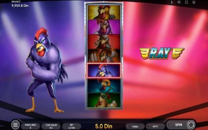 Besplatni spinovi-odabir petla-Rooster Fury