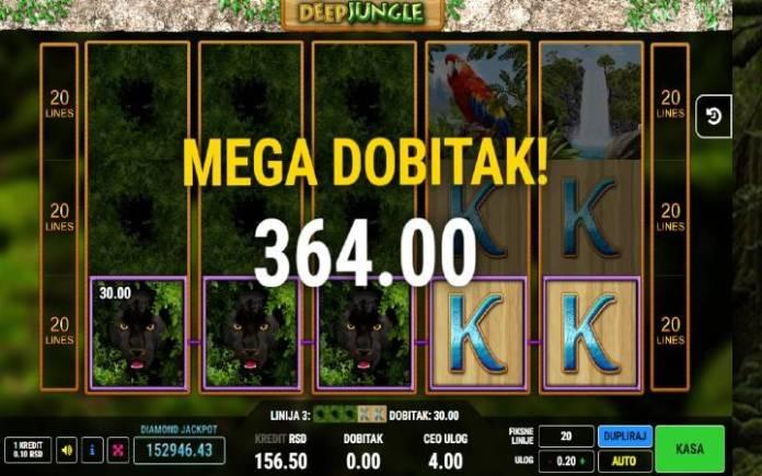 Specijalni simbol-džoker-Deep Jungle-online casino bonus