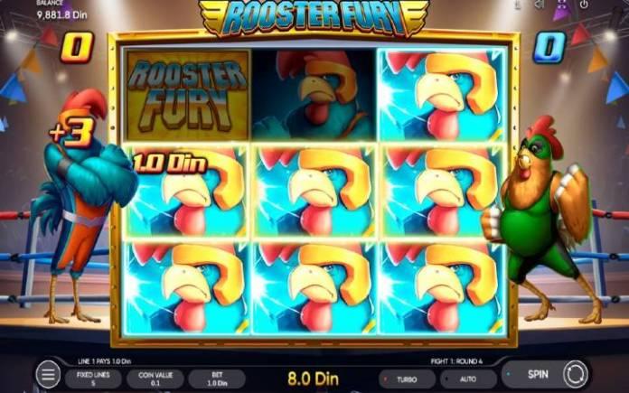 Besplatni spinovi-Rooster Fury-online casino bonus