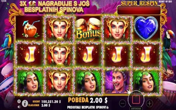 Besplatni spinovi-online casino bonus-Heart of Rio