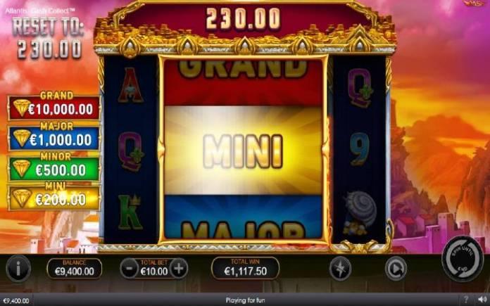Džekpot-atlantis cash collect-online casino bonus