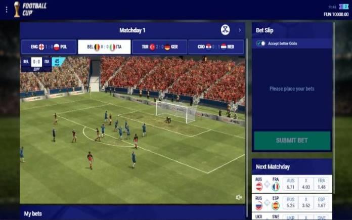 Virtual Football Cup-onlne casino bonus-leap casino