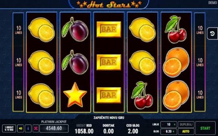 Hot Stars-online casino bonus-osnovna igra
