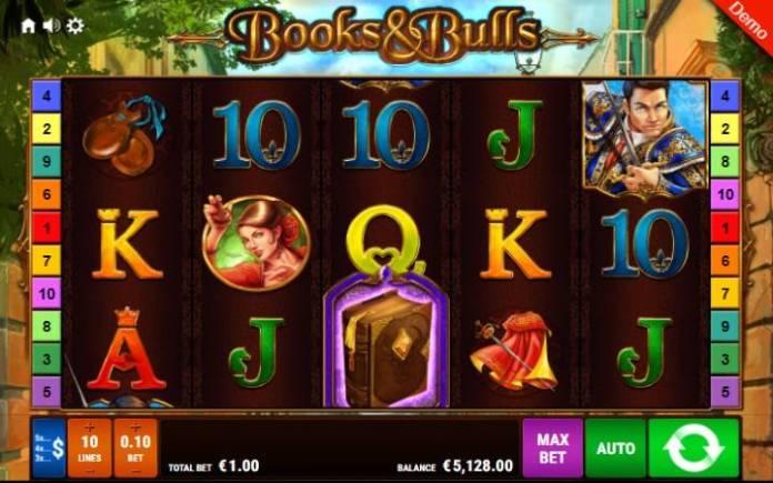 Books and Bulls-online casino bonus-osnovna igra