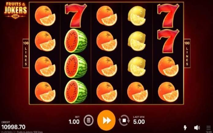 Fruits and Jokers-playson-online casino bonus