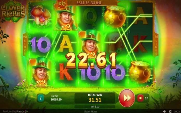 Besplatni spinovi-džokeri sa množiocem-Clover Ricves-Online casino bonus