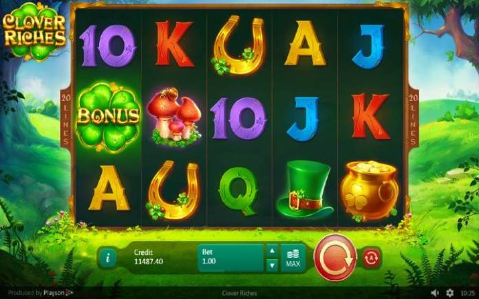 Clover Riches-online casino bonus-osnovna igra