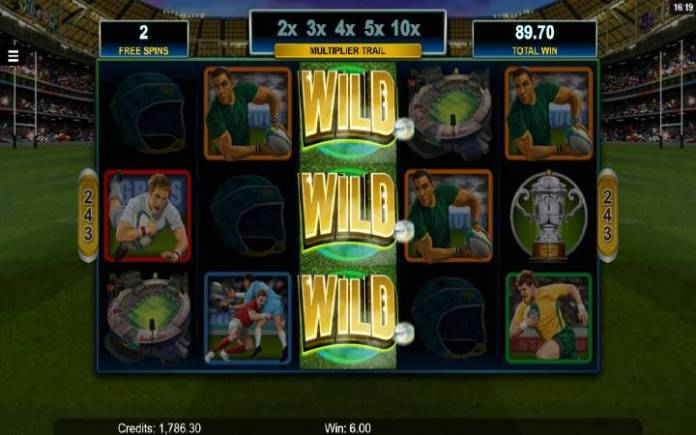 Besplatni spinovi-Rugby Star-online casino bonus