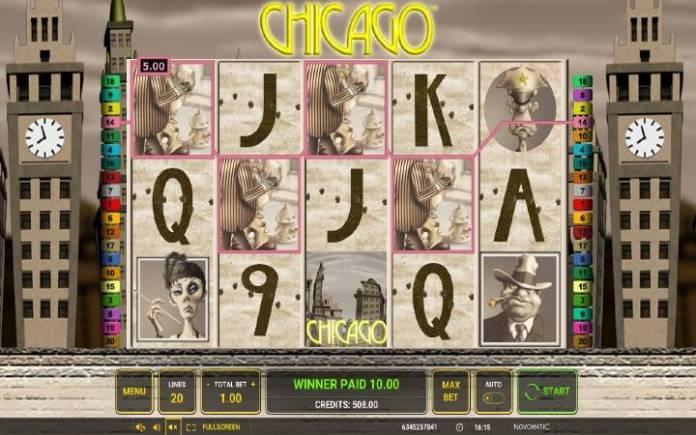 džoker-chicago-online casino bonus-novomatic