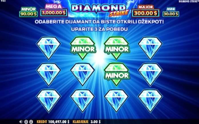 Džekpot-Diamond Strike-online casino bonus-Pragmatic Play