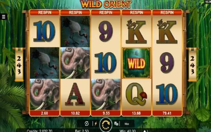 Scatter-online casino bonus-wild orient