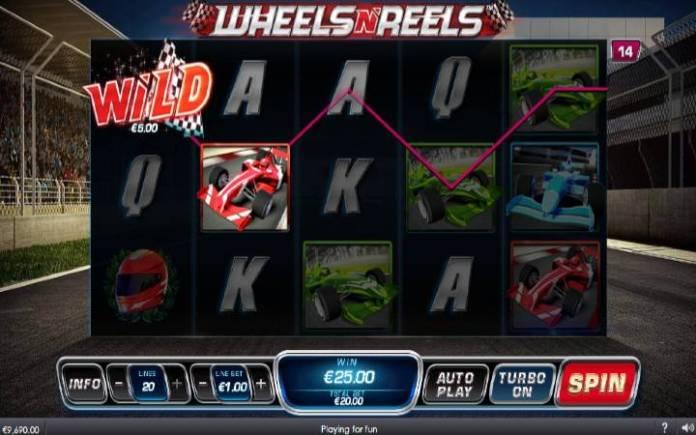 Džoker-wheels n Reels-online casino bonus