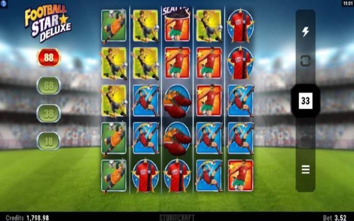 Football Star Deluxe-online casino bonus-osnovna igra-microgaming