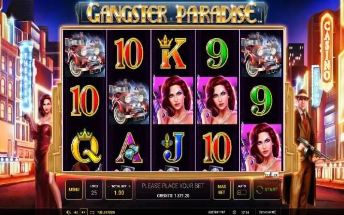 Gangster Paradise-novomatic-osnovna igra-online casino bonus